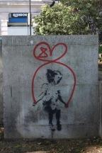 Banksy? Extinction Rebellion Art